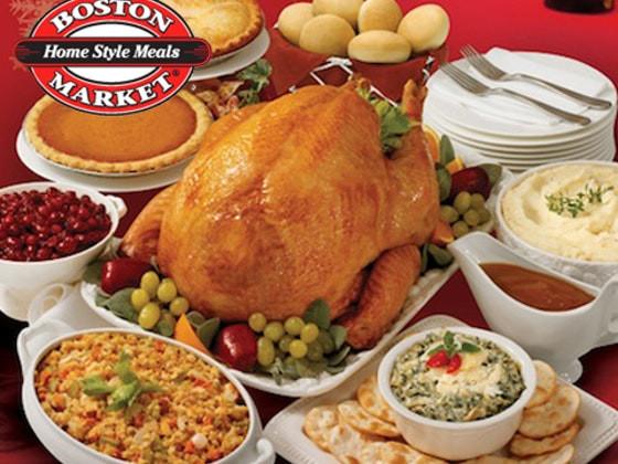 Boston Market Thanksgiving Turkey Dinner  Win a Thanksgiving Dinner from Boston Market Sweepon