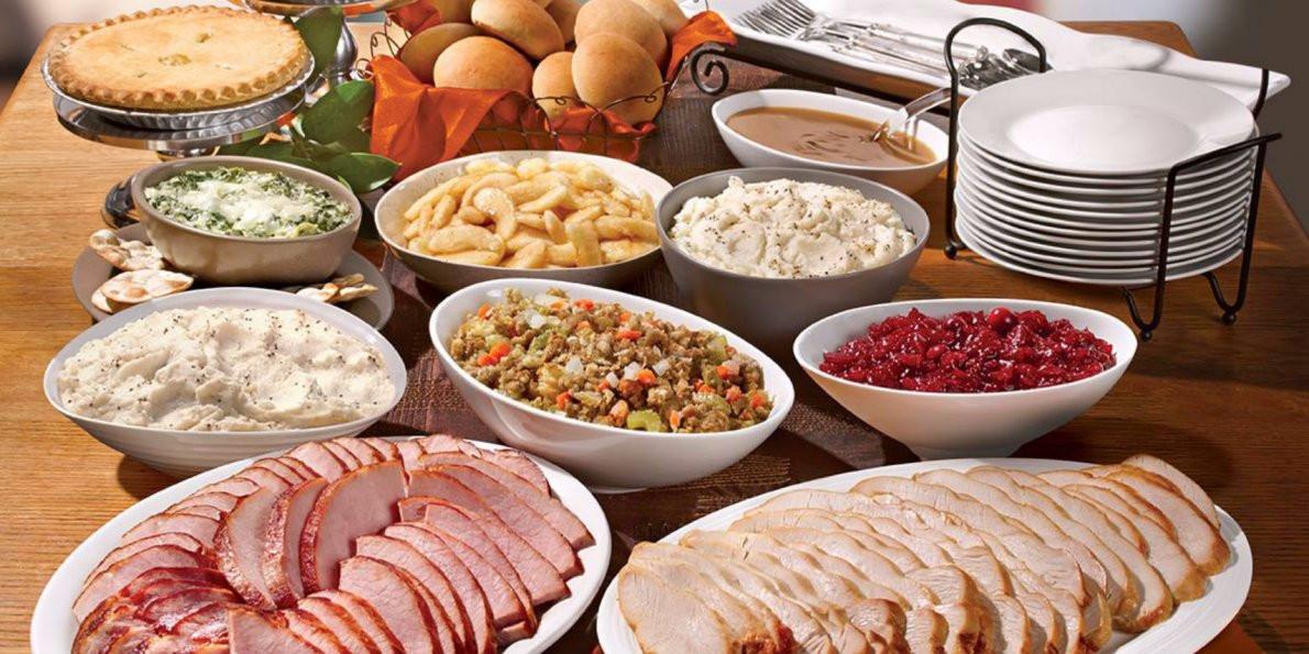 Boston Market Turkey Dinner Thanksgiving  Boston Market wants to deliver Thanksgiving to your