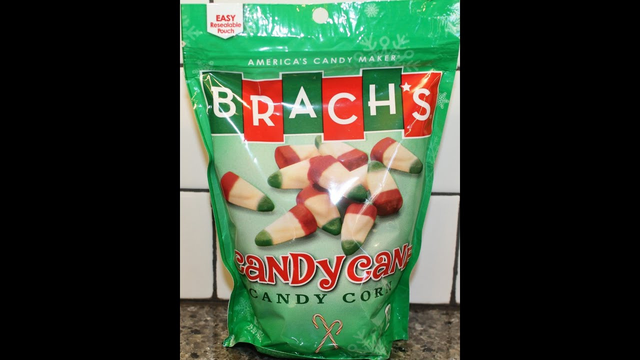 Brach'S Christmas Candy Corn  Brach s Candy Cane Candy Corn Review Christmas