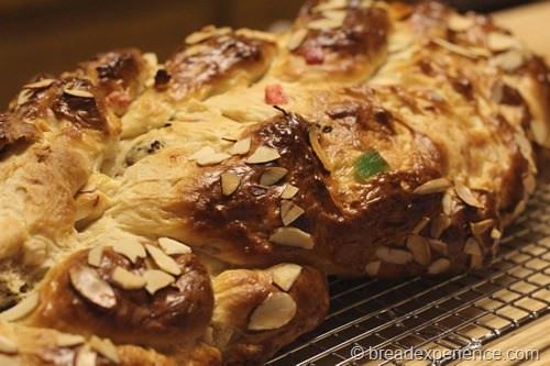 Braided Christmas Bread  Vanocka Christmas Braid