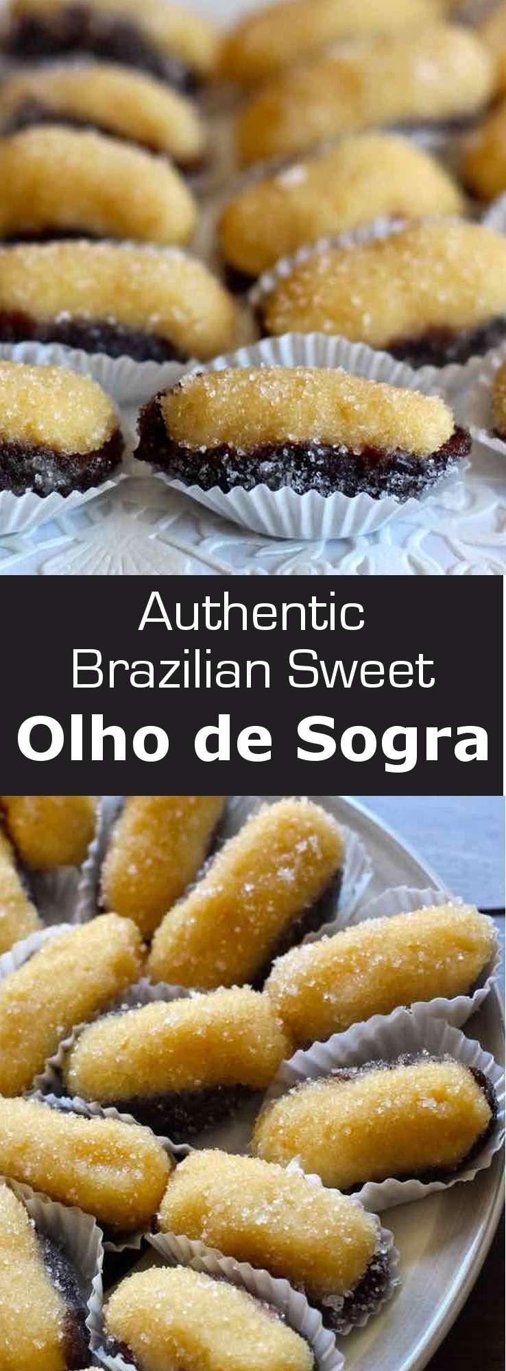 Brazilian Christmas Desserts  Olho de Sogra Authentic Brazilian Recipe