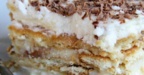 Brazilian Christmas Desserts  Brazilian Pave dessert Recipe