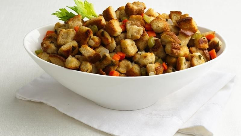 Bread Dressing For Thanksgiving  Easy Turkey Stuffing recipe from Betty Crocker