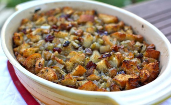 Bread Dressing For Thanksgiving  A Virtual Thanksgiving Recipe Seasonal Fruit & Herbs