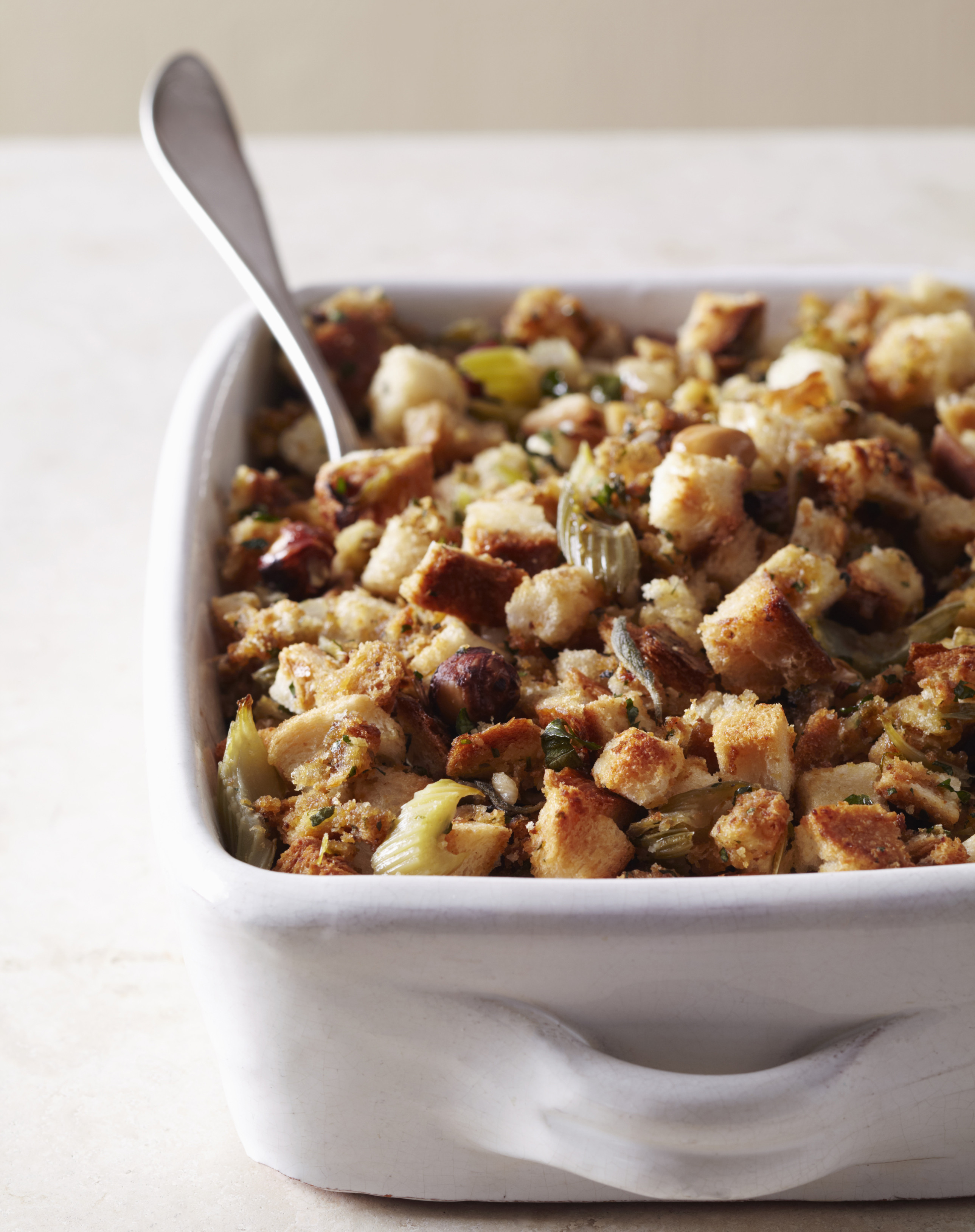 Bread Dressing For Thanksgiving  Turkey Stuffing Recipe Traditional Bread Stuffing with