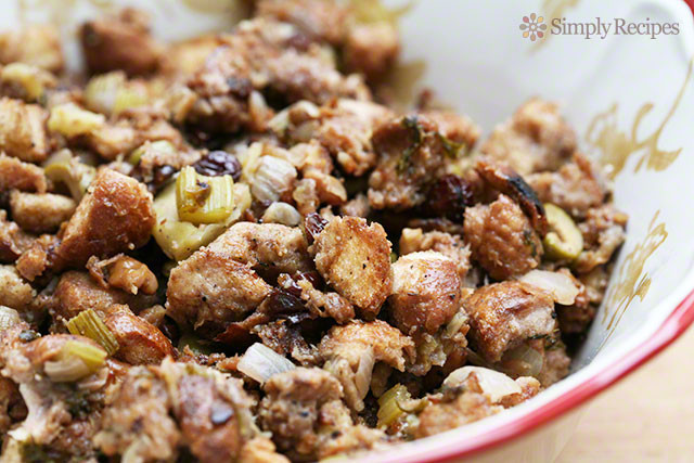 Bread Dressing For Thanksgiving  Mom's Turkey Stuffing Recipe