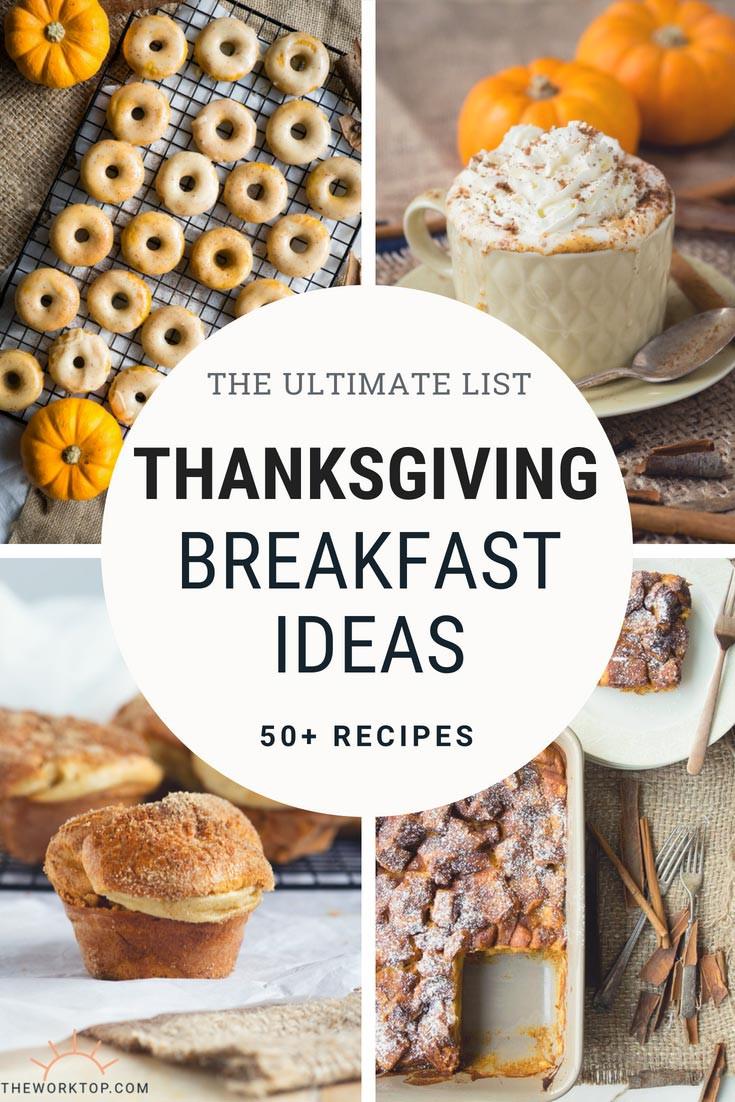 Breakfast On Thanksgiving Day  50 Delicious Thanksgiving Breakfast Ideas