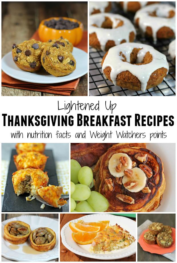 Breakfast On Thanksgiving Day  Lightened Up Thanksgiving Recipes Roundup Emily Bites