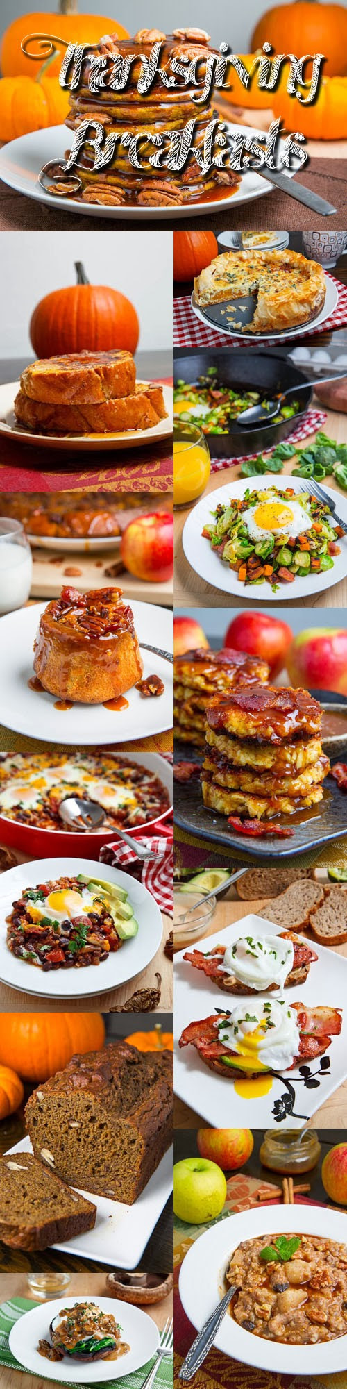Breakfast On Thanksgiving Day  Thanksgiving Breakfast Recipes on Closet Cooking