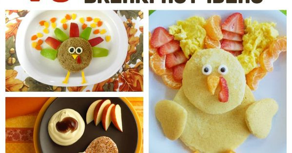 Breakfast On Thanksgiving Day  10 Fun Thanksgiving Breakfast Ideas