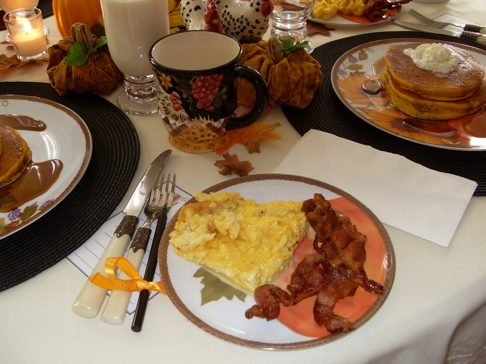 Breakfast On Thanksgiving Day  Home Sweet Home Thanksgiving Breakfast