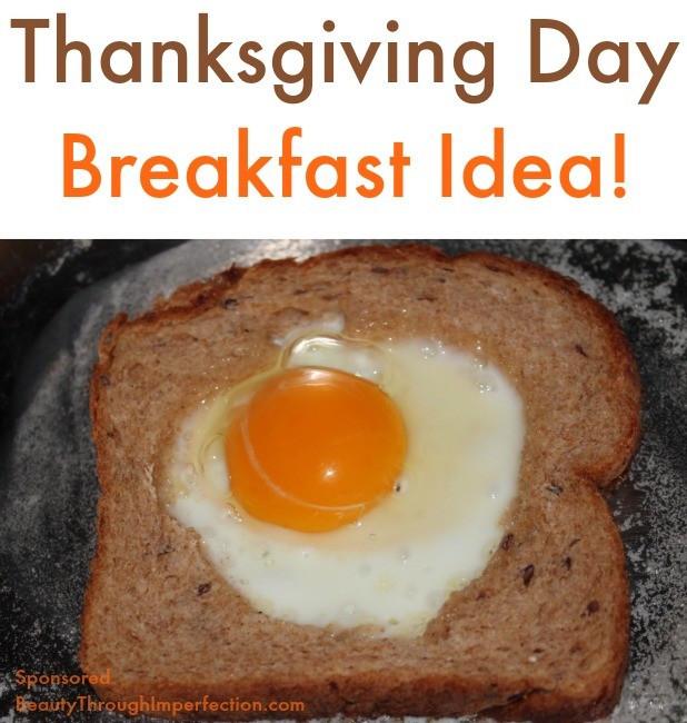 Breakfast On Thanksgiving Day  Thanksgiving Breakfast Idea Beauty through imperfection
