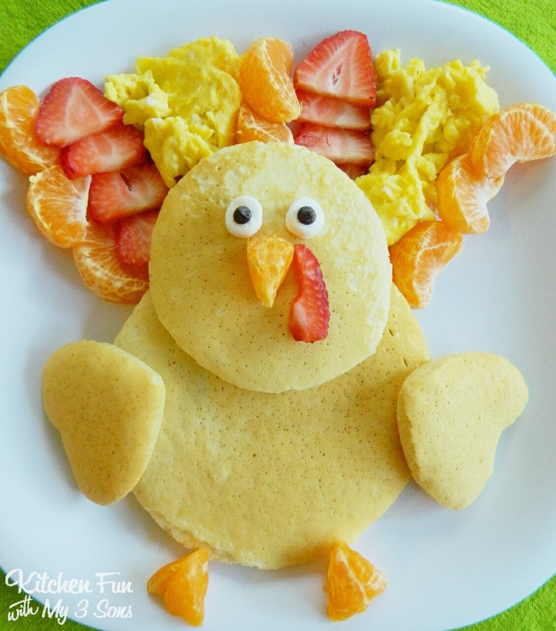 Breakfast On Thanksgiving Day  Thanksgiving Turkey Pancakes for Breakfast Kitchen Fun