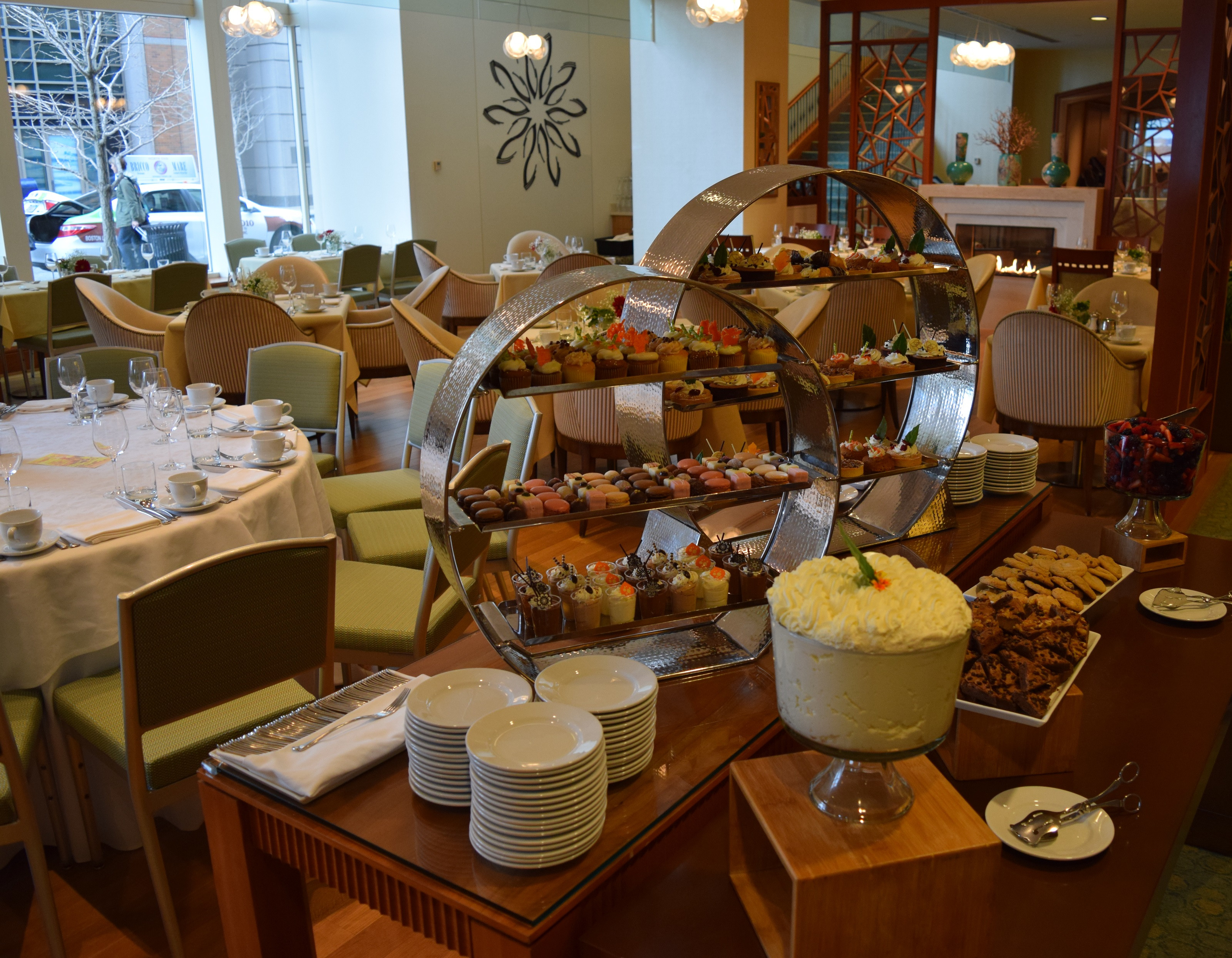 Breakfast Open On Thanksgiving  Enjoy Christmas Brunch at Aura at the Seaport Hotel [12 25 17]