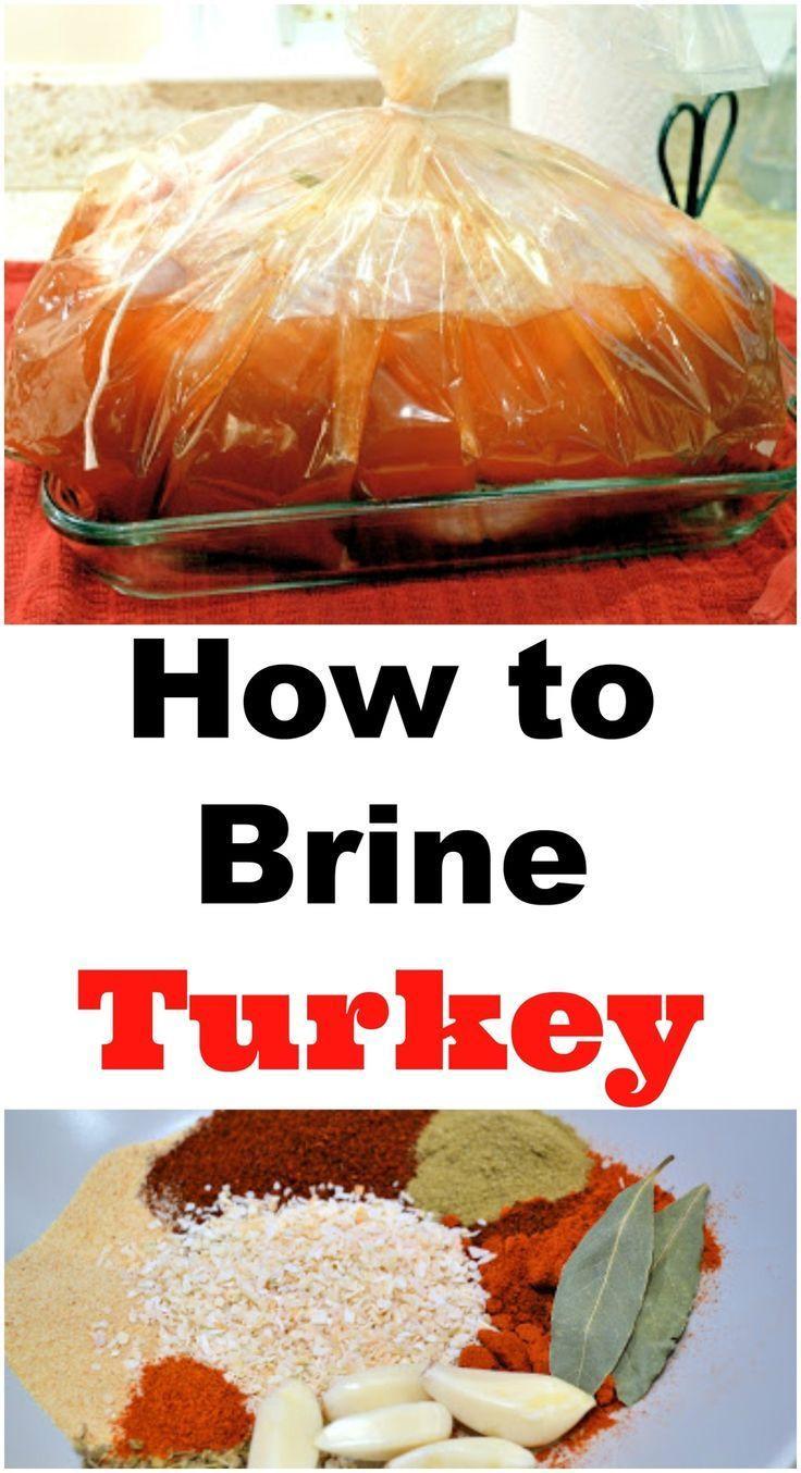 Brining Turkey Recipes Thanksgiving  Best 25 Thanksgiving recipes ideas on Pinterest
