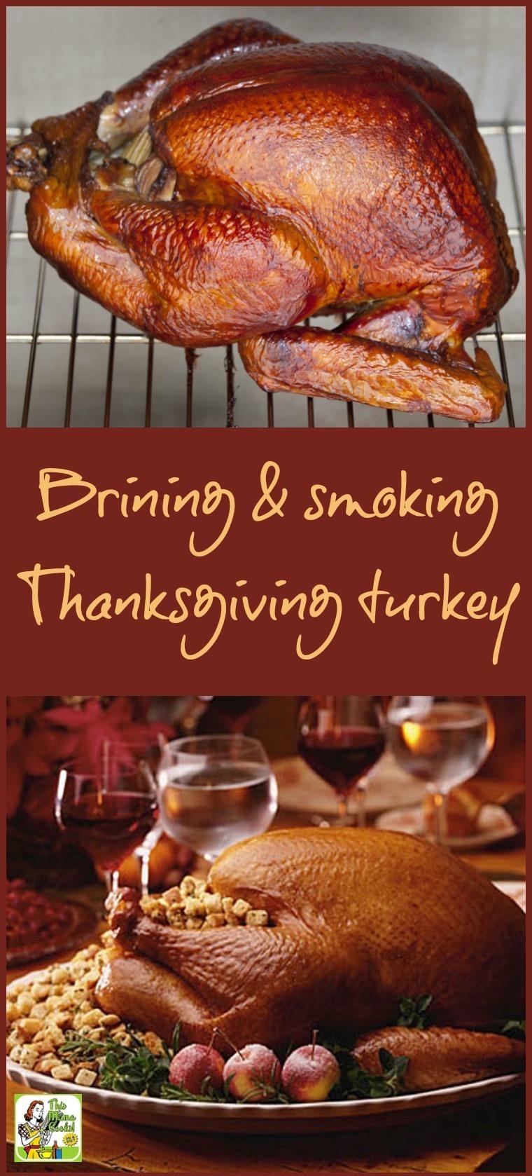 Brining Turkey Recipes Thanksgiving  Brining and smoking your Thanksgiving turkey
