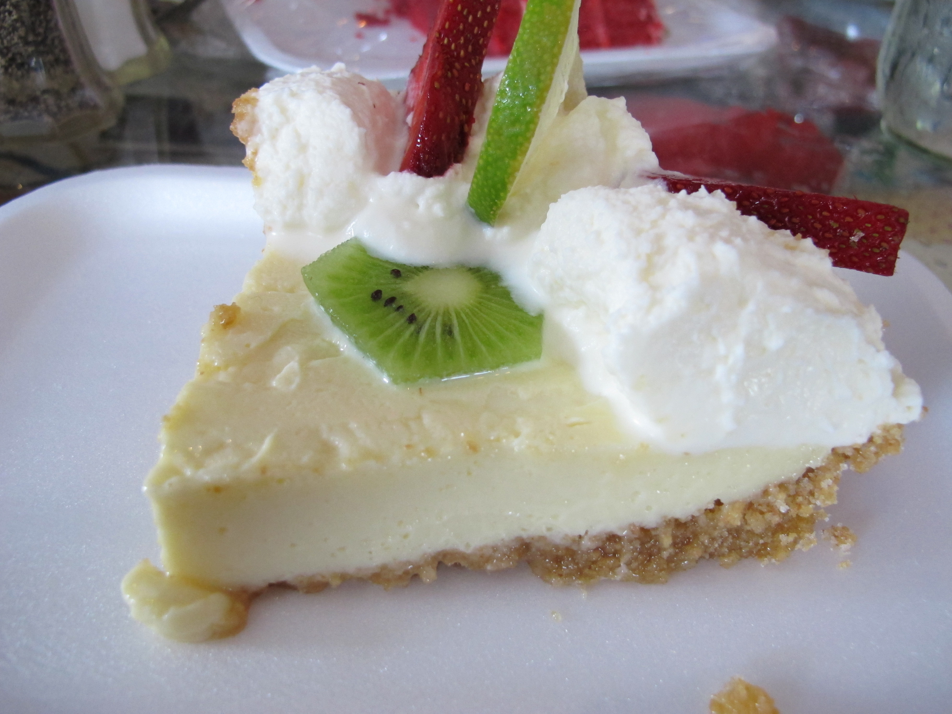 Bubble Room White Christmas Cake Recipe  Feast The Bubble Room and Key Lime Pie