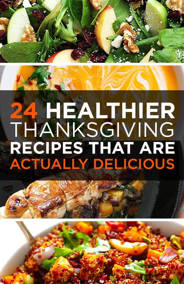 Buzzfeed Thanksgiving Desserts  24 Healthier Thanksgiving Recipes That Are Actually Delicious
