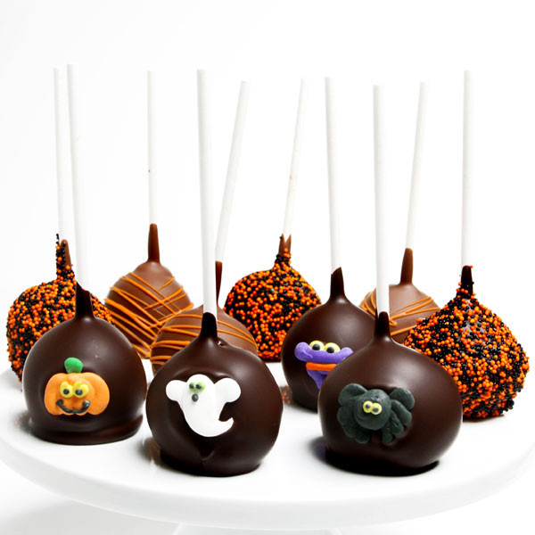 Cakes Pops Halloween  Halloween Cake Pops by GourmetGiftBaskets