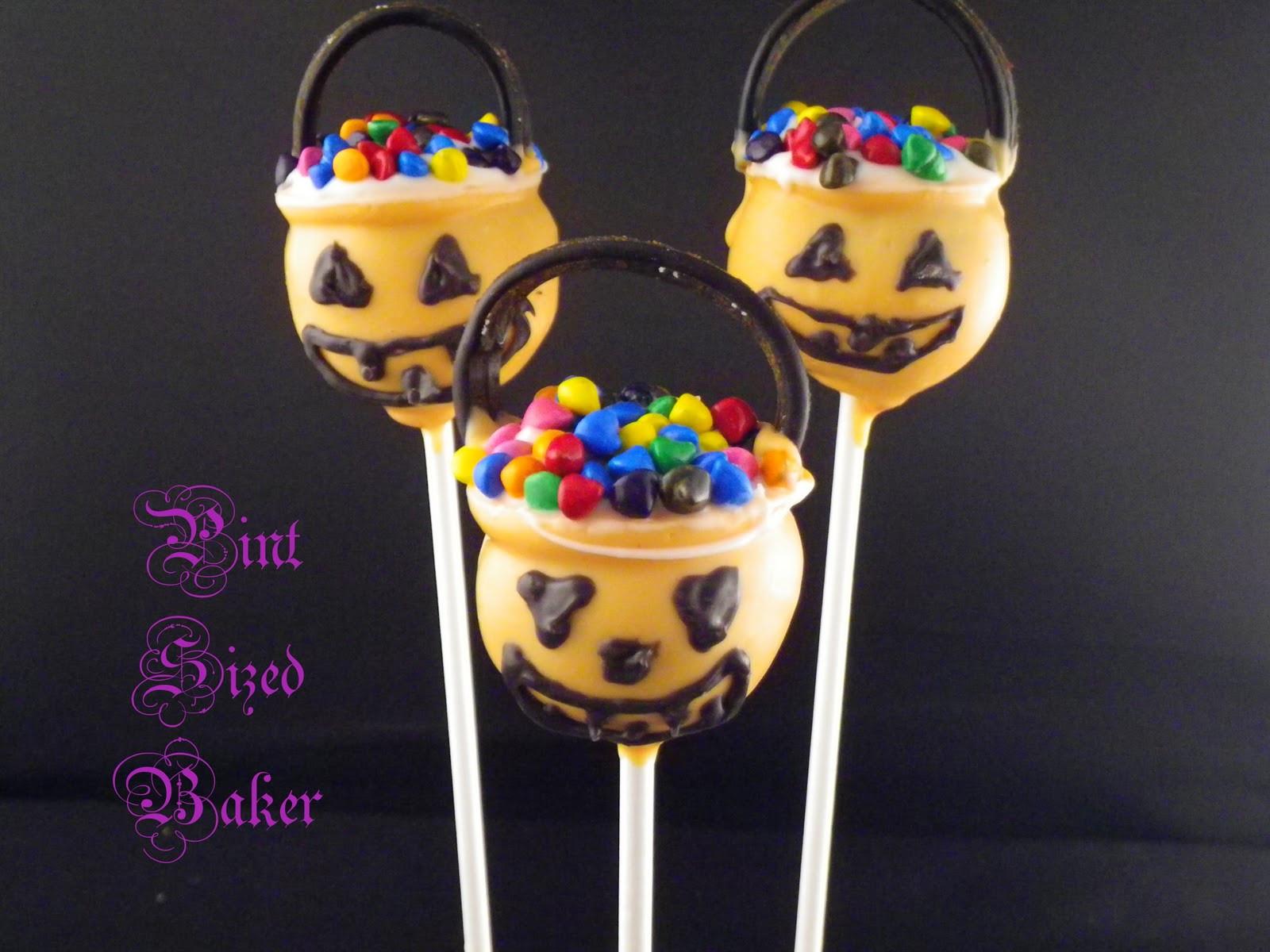Cakes Pops Halloween  Halloween Cake Pops Pint Sized Baker