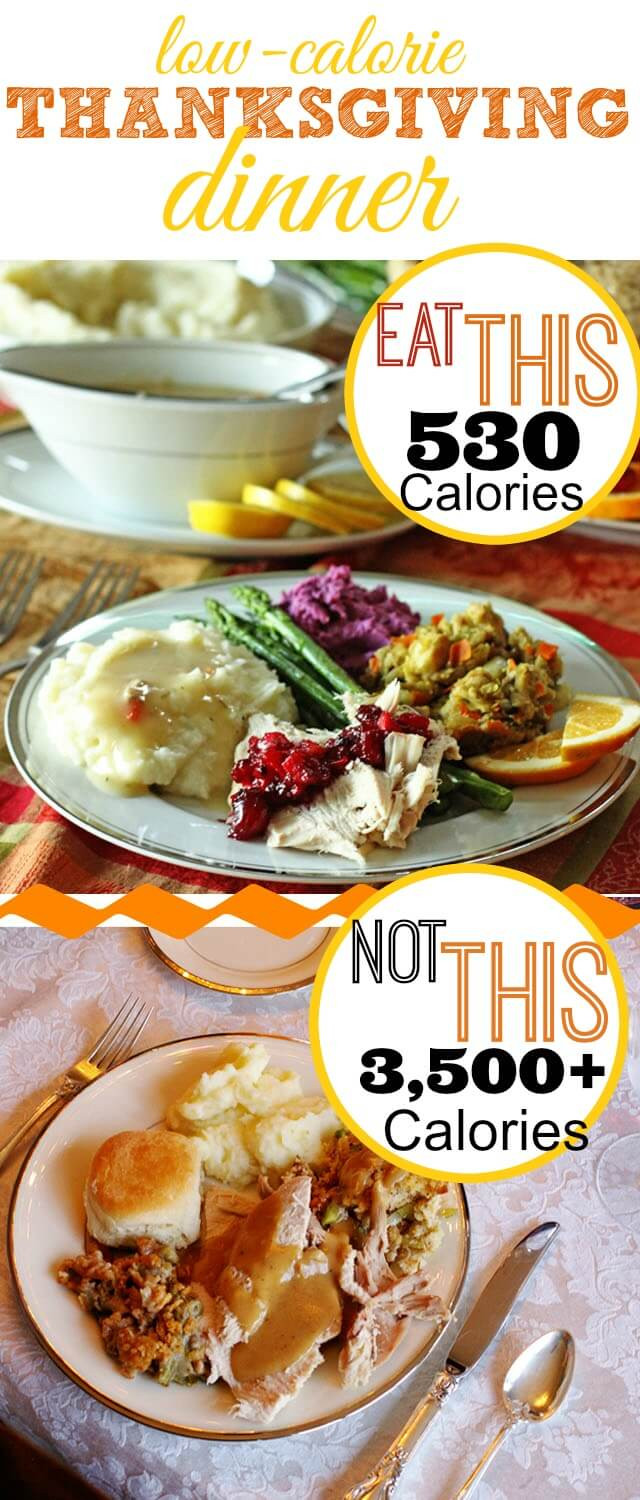 Calories In Thanksgiving Dinner  Low Calorie Thanksgiving Dinner