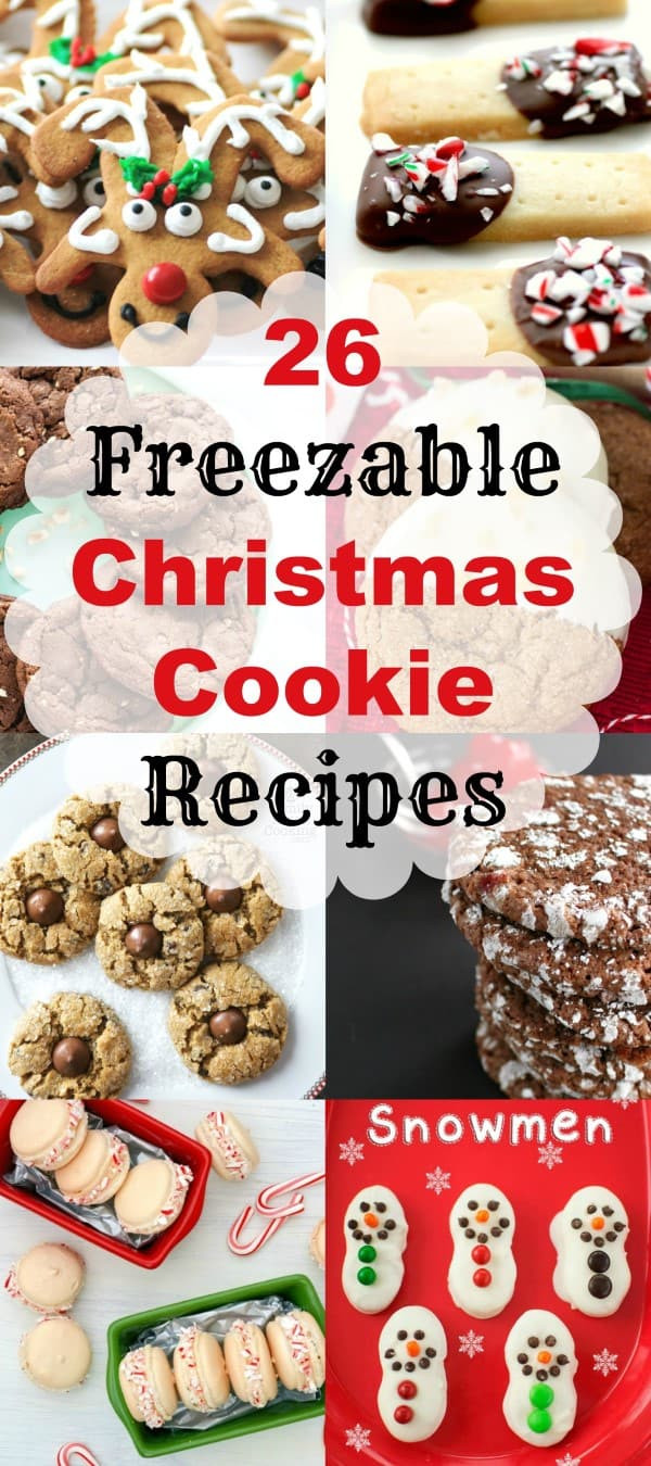 Can You Freeze Christmas Cookies  MWM 26 Freezable Christmas Cookie Recipes