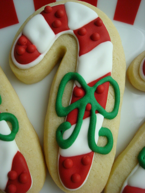Candy Cane Christmas Cookies  FLOUR & SUGAR Christmas Cookies Reindeer Trees