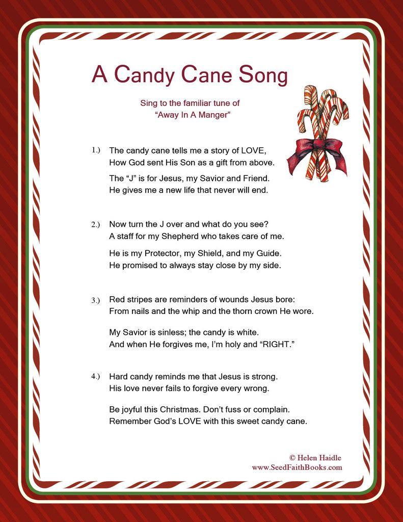 Candy Cane Christmas Lyrics  Candy Cane Legend Song PDF Christmas