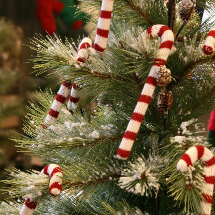 Candy Cane Christmas Tree Decorations  A DIY Christmas Decorating your Home on a Bud