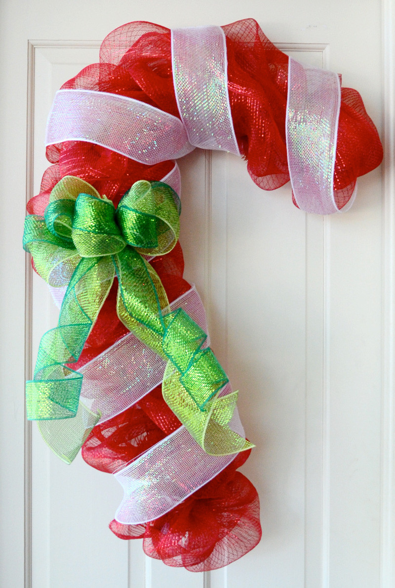 Candy Cane Ideas For Christmas  Party Ideas by Mardi Gras Outlet Candy Cane Door