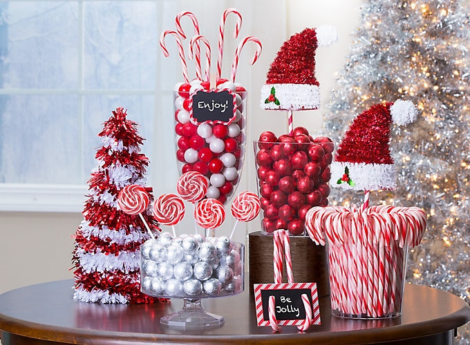 Candy Cane Ideas For Christmas  Candy Cane Christmas Decorations Party City