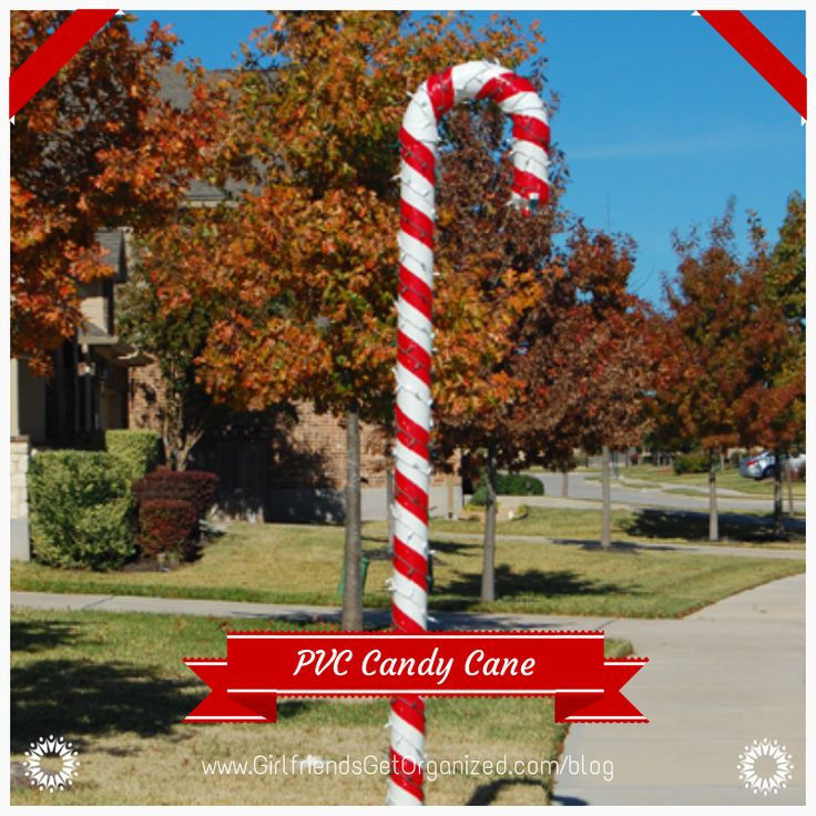 Candy Cane Outdoor Christmas Decorations  25 Top outdoor Christmas decorations on Pinterest Easyday