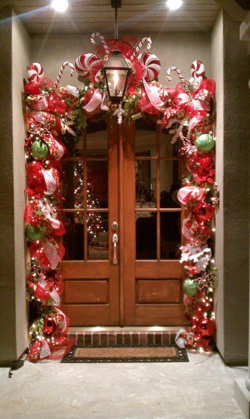 Candy Cane Outdoor Christmas Decorations  25 best ideas about Candy christmas decorations on