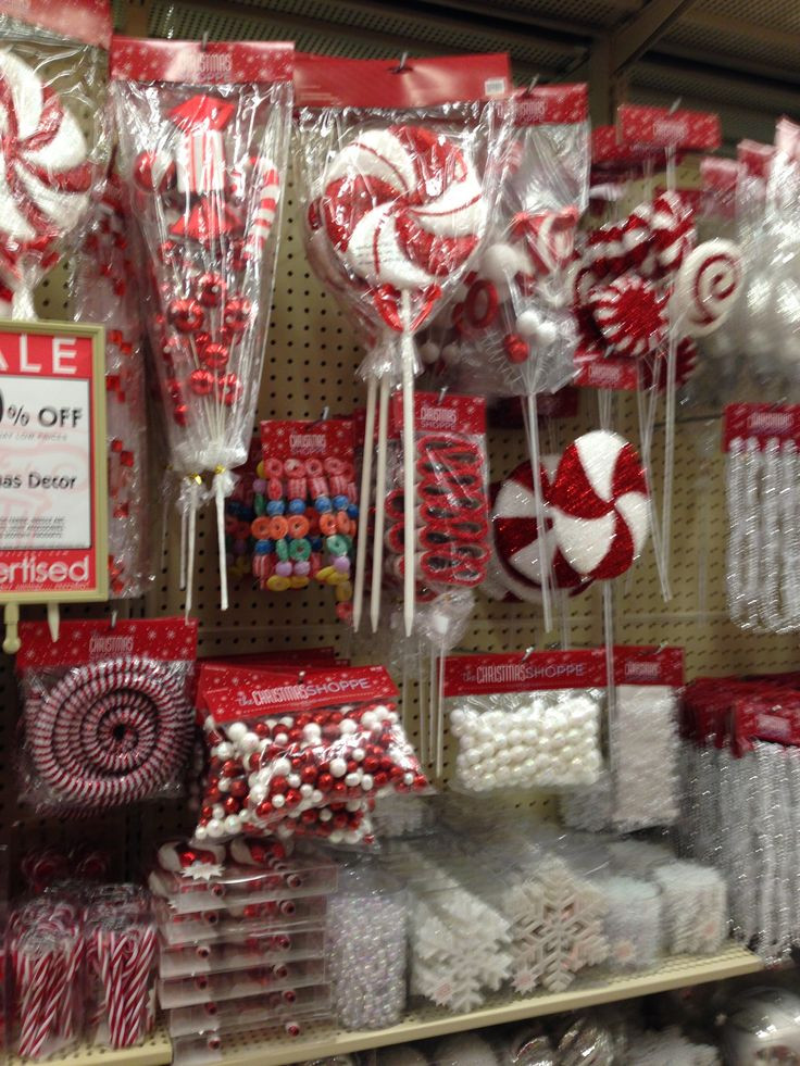 Candy Christmas Decorations Hobby Lobby  82 best images about Home Sweet Home Tinsel Trail 2014 on
