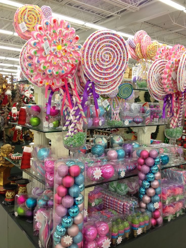 Candy Christmas Decorations Hobby Lobby  Candyland Christmas Inspiration