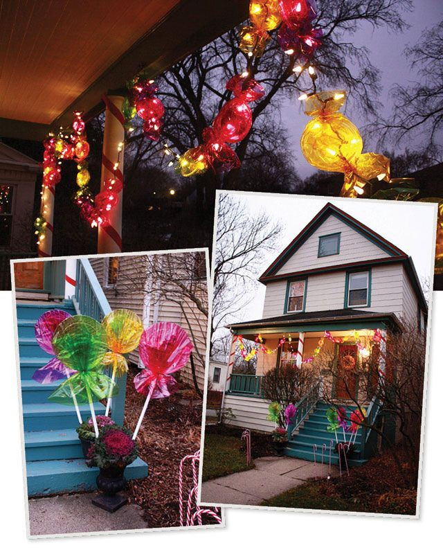 Candy Christmas Lights  26 best trunk or treat decorating ideas images on