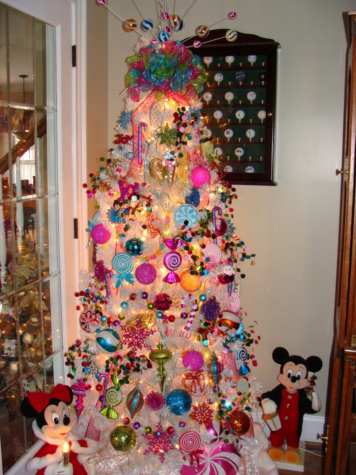 Candy Christmas Lights  46 Famous Candy Christmas Tree Decorations Ideas