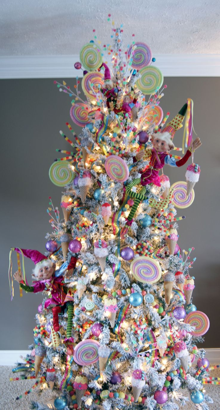 Candy Christmas Tree  17 Best ideas about Candy Christmas Trees on Pinterest