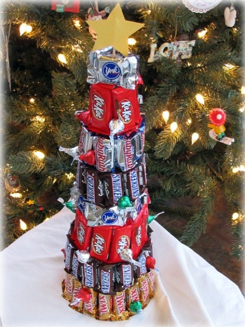 Candy Christmas Tree  Candy tree