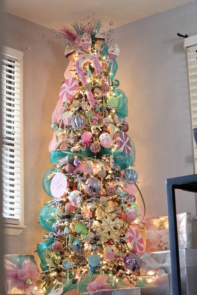 Candy Christmas Tree Decorations  Best 25 Candy land christmas ideas on Pinterest