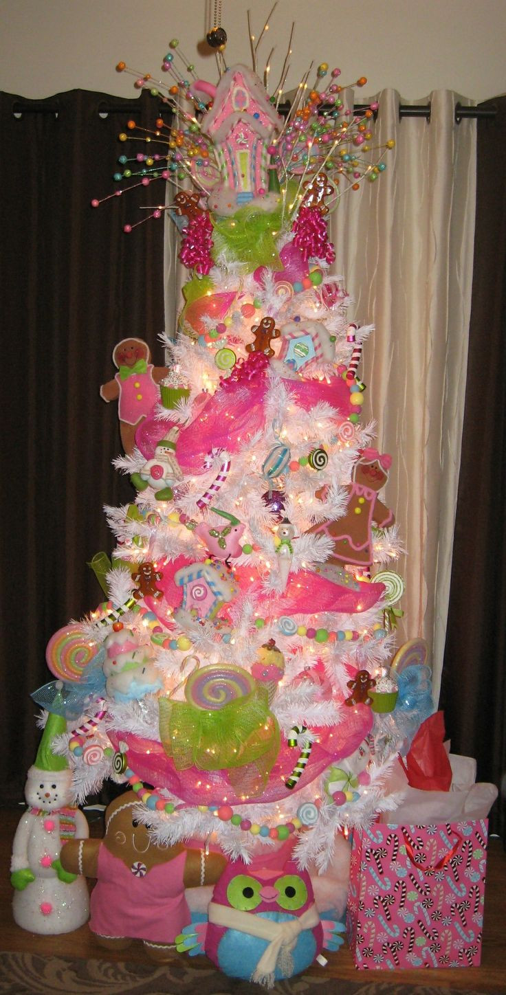 Candy Christmas Tree Decorations  17 Best images about Candy themed Christmas decorations on