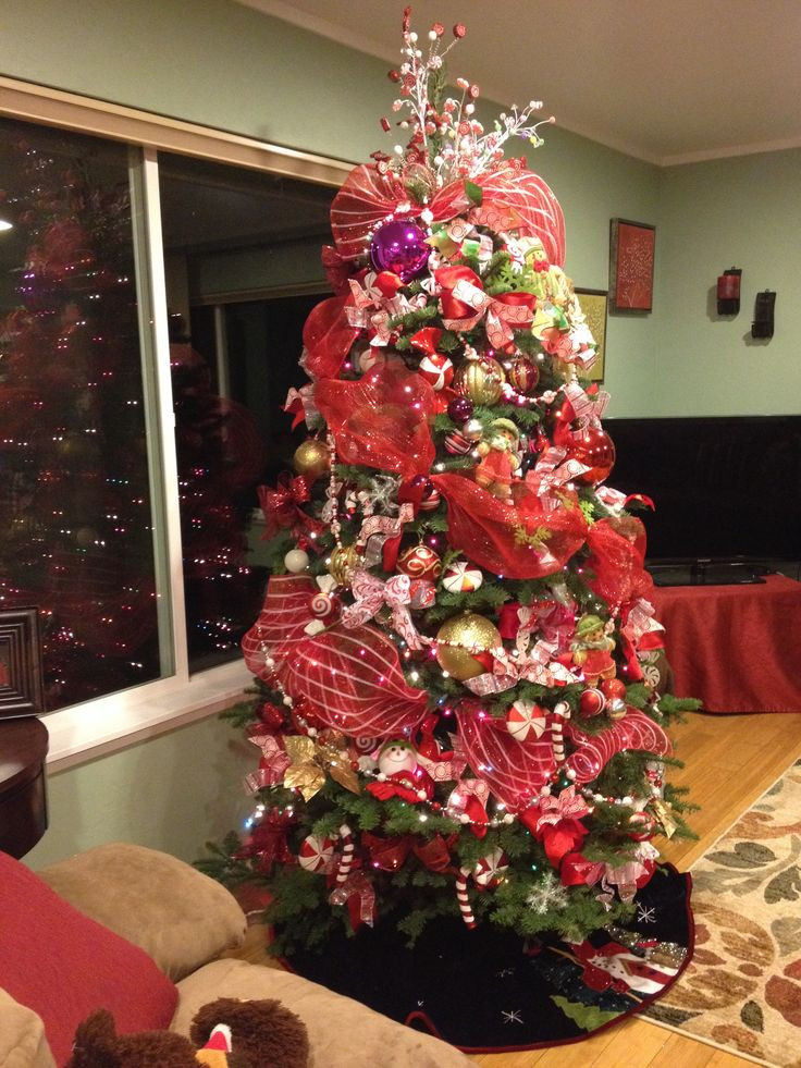 Candy Christmas Tree Decorations  17 Best images about CHRISTMAS TREES on Pinterest