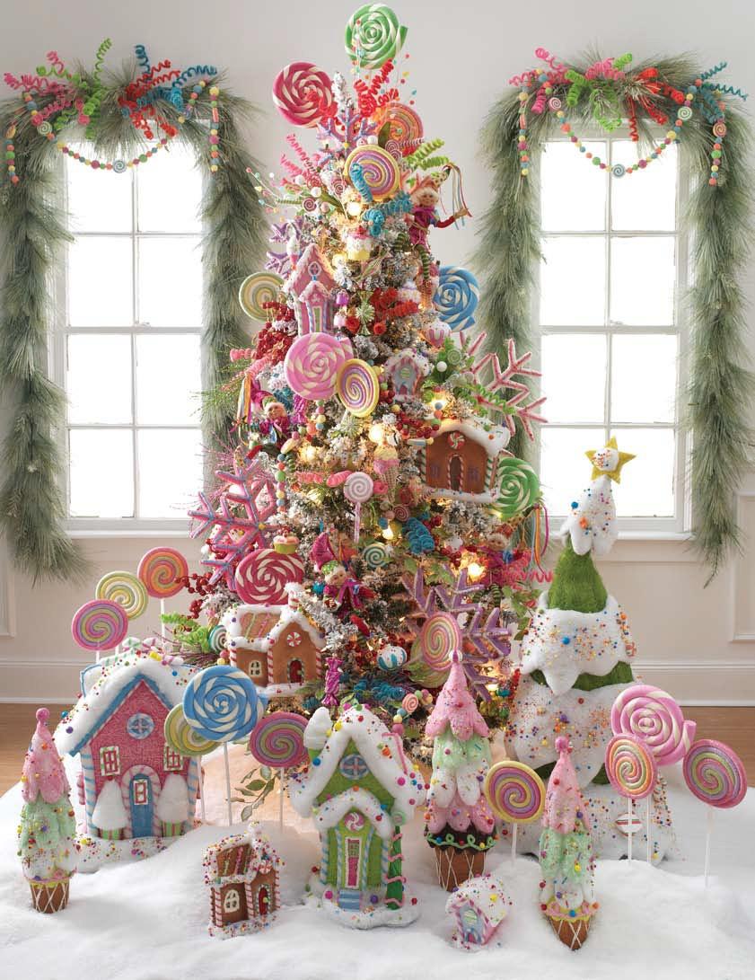 Candy Christmas Tree  RAZ Christmas at Shelley B Home and Holiday Lollipop