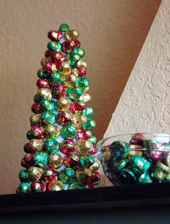 Candy Christmas Tree  Candy Christmas Tree and Butterfinger Cookies Someday I