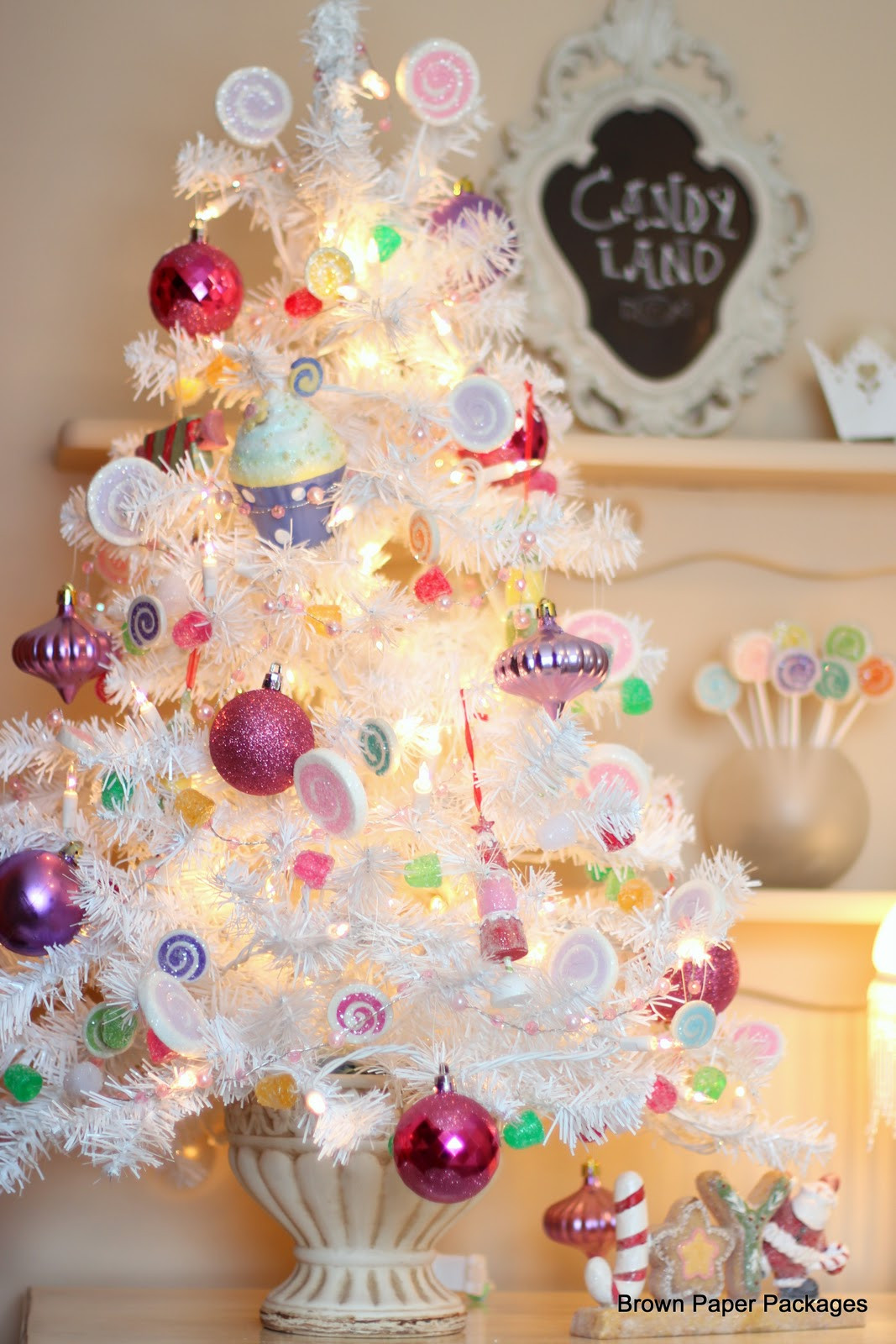 Candy Christmas Tree  Brown Paper Packages Candy Tree