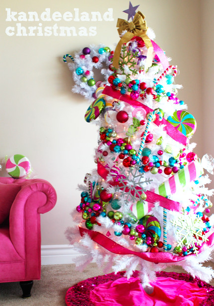 Candy Themed Christmas Decorations  kandeej My Candyland or Kandeeland Holiday House Tour