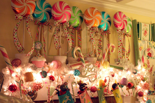 Candy Themed Christmas Decorations  Candyland – bakerella