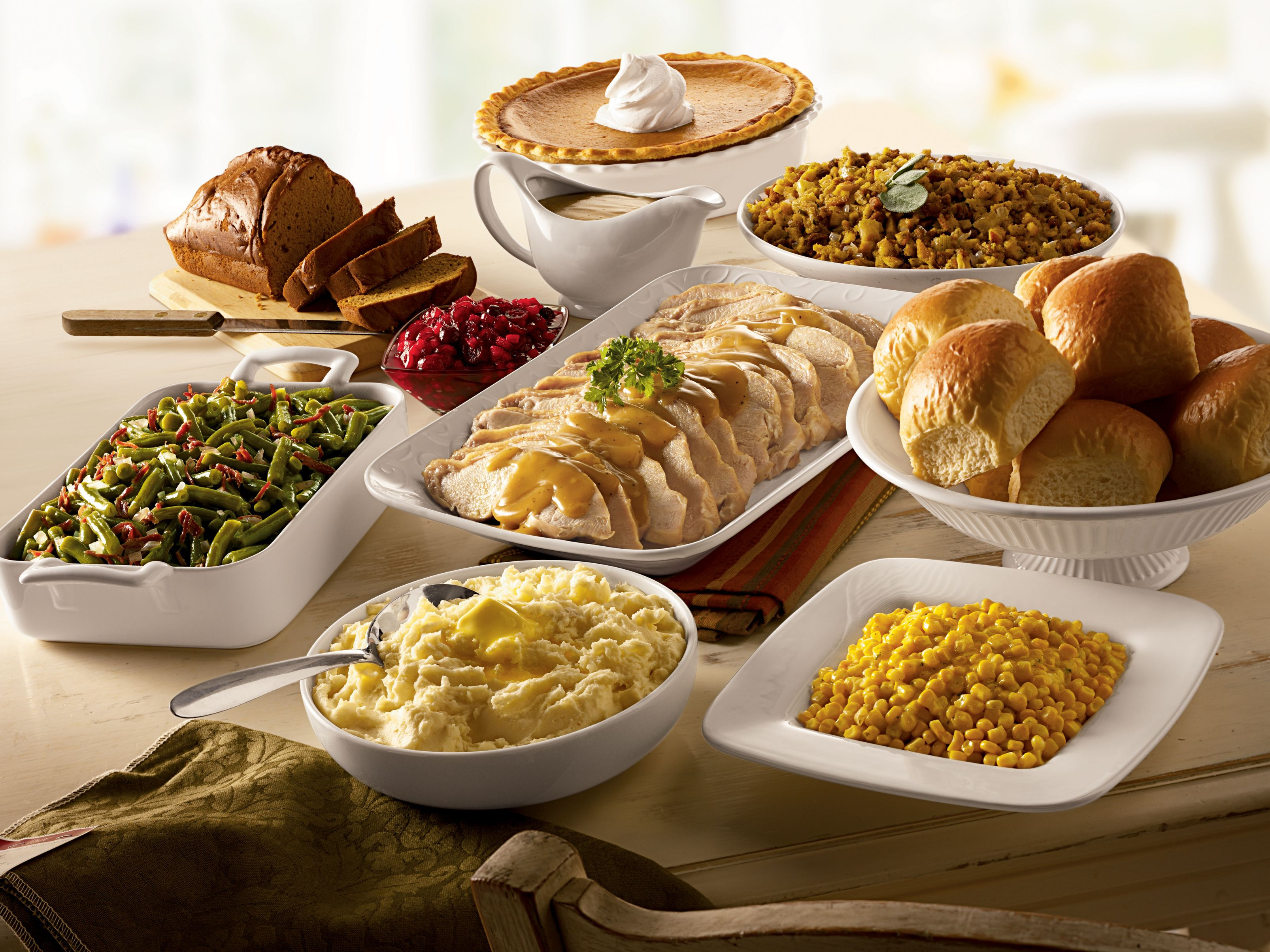 Catered Thanksgiving Dinner  Bob Evans Holiday Farmhouse Feast