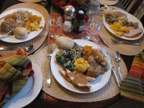 Catered Thanksgiving Dinner  Southland Caterers