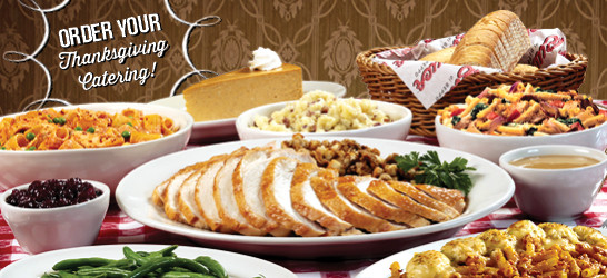 Catered Thanksgiving Dinner  Buca Catering Means More Time to Do What You Love This